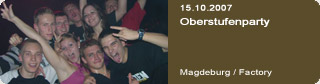 Galerie: Oberstufenparty<br>Factory / Magdeburg /