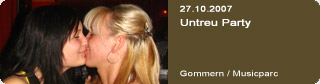 Galerie: Untreu Party<br>Musicparc / Gommern /