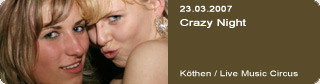 Galerie: Crazy Night<br>