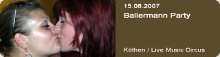 Galerie: Ballermann Party<br>Live Music Circus / Köthen /