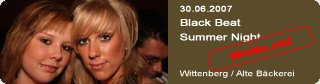 Galerie: Black Beat Summer Night<br>Alte Bäckerei / Wittenberg /