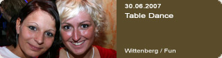 Galerie: Table Dance<br>Fun / Wittenberg /