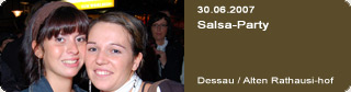 Galerie: Salsa-Party<br>Alten Rathausinnenhof / Dessau /