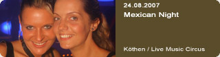 Galerie: Mexican Night<br>Live Music Circus / Köthen /