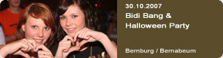 Galerie: Bidi Bang & Halloween Party<br>Bernabeum / Bernburg /