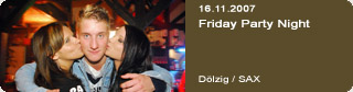 Galerie: Friday Party Night<br>Sax / Dölzig /