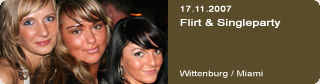 Galerie: Flirt & Single Party<br> Miami / Wittenburg  /