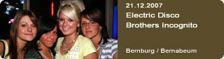 Galerie: Electric Disco<br>Brothers Incognito<br>Bernabeum / Bernburg /
