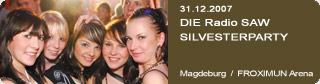 Galerie: DIE Radio SAW SILVESTERPARTY<br>