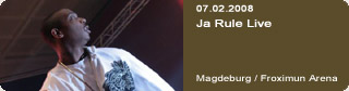 Galerie: Ja Rule Live<br>Froximun Arena / Magdeburg /
