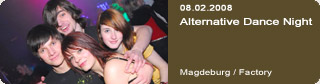 Galerie: Alternative Dance Night<br>Factory / Magdeburg /